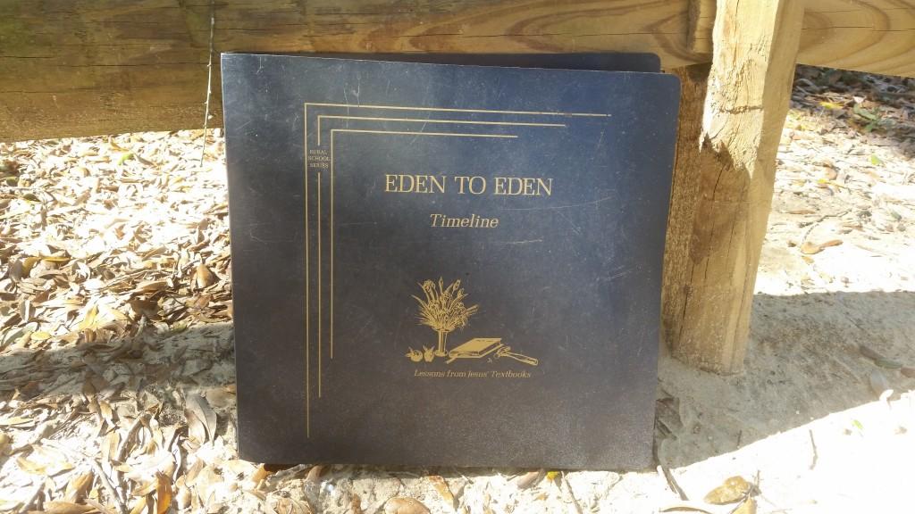 Eden to Eden Timeline