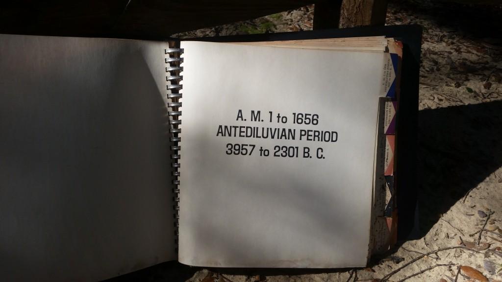Eden to Eden Timline - Antediluvian Period