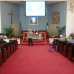 Dave Black preaching at Chumuckla Community Church