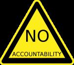 no accountability